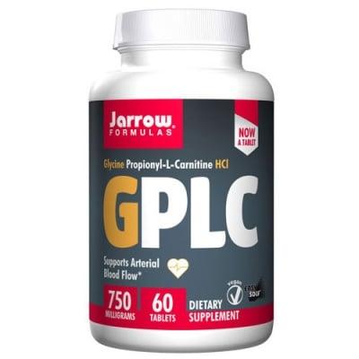 Jarrow Formulas GPLC Glycocarn (Glycine Propionyl -L-Carnitine HCl) 750 mg 60 tablets / Джароу Формулас Глицин Пропионил-L-карнитин HCl 750 мг. 60 таблетки