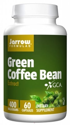 Jarrow Formulas Green coffee bean 400 mg 60 capsules / Джароу Формулас Екстракт от Зелено кафе 400 мг 60 капсули
