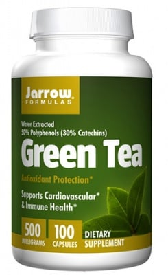 Jarrow Formulas Green tea 500 mg 100 capsules / Джароу Формулас Зелен чай 500 мг 100 капсули