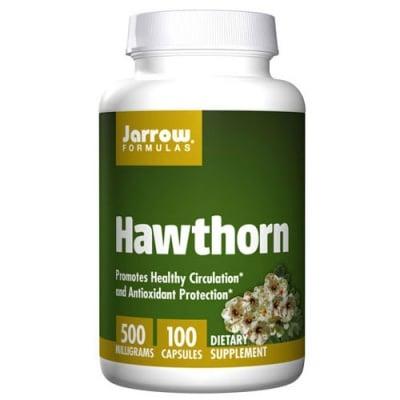 Jarrow Formulas Hawthorn 500 mg 100 capsules / Джароу Формулас Глог 500 мг. 100 капсули