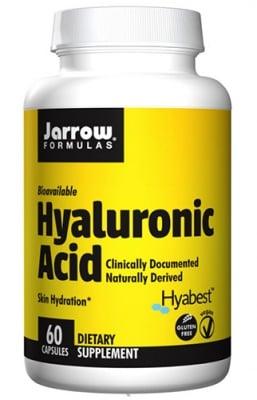 Jarrow Formulas Hyaluronic acid 60 capsules / Джароу Формулас Хиалуронова киселина 60 капсули
