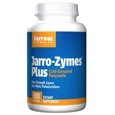 Jarrow Formulas Jarro-Zymes Plus 100 capsules / Джароу Формулас Джарозимс Плюс (Храносмилателни панкреатични ензими) 100 капсули