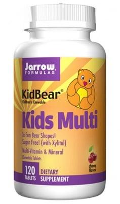 Jarrow Formulas kids multi 120 chewable tablets / Джароу Формулас Кидс Мулти 120 дъвчащи таблетки