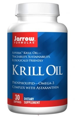 Jarrow Formulas krill oil 30 softgels / Джароу Формулас Крил ойл 30 капсули