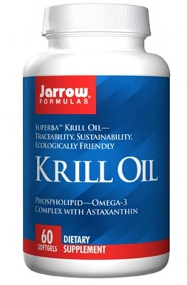 Jarrow Formulas krill oil 60 softgels / Джароу Формулас Крил ойл 60 капсули