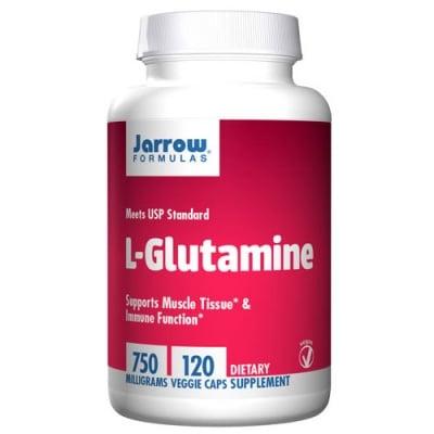 Jarrow Formulas L-Glutamine 750 mg 120 capsules / Джароу Формулас L-глутамин 750 мг. 120 капсули