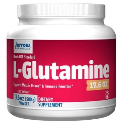 Jarrow Formulas L-Glutamine powder 500 g / Джароу Формулас L-глутамин прах 500 гр.
