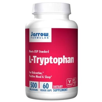 Jarrow Formulas L-tryptophan 500 mg 60 capsules / Джароу Формулас L-триптофан 500 мг. 60 капсули
