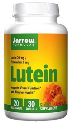 Jarrow Formulas Lutein 20 mg 30 capsules / Джароу Формулас Лутеин 20 мг. 30 капсули