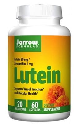 Jarrow Formulas Lutein 20 mg 60 capsules / Джароу Формулас Лутеин 20 мг. 60 капсули