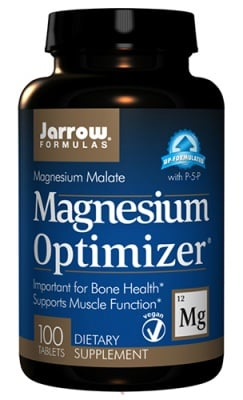 Jarrow Formulas magnesium optimizer 200 tablets / Джароу Формулас Магнезиум оптимайзър 200 таблетки