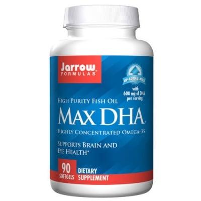 Jarrow Formulas Max DHA 90 capsules / Джароу Формулас Макс Докозахексаеновата киселина 90 капсули