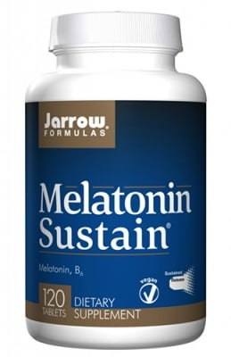 Jarrow Formulas Melatonin sustain 120 tablets / Джароу Формулас Мелатонин Систеин 120 таблетки