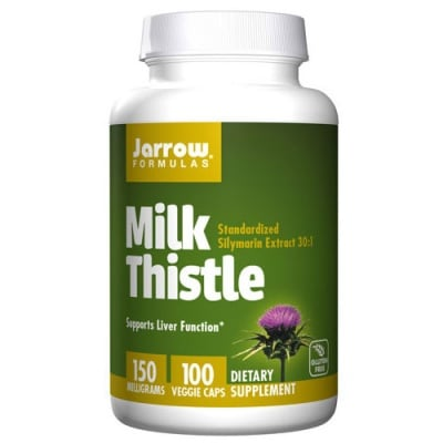 Jarrow Formulas Milk Thistle 150 mg 100 capsules / Jarrow Formulas Джароу Формулас Бял трън 150 мг. 100 капсули