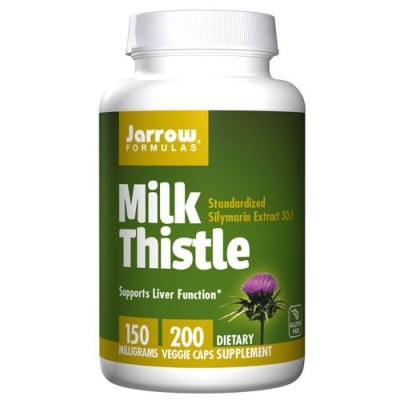 Jarrow Formulas Milk Thistle 150 mg 200 capsules / Джароу Формулас Бял трън 150 мг. 200 капсули