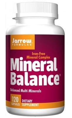 Jarrow Formulas Mineral balance 120 capsules / Джароу Формулас Минерал баланс 120 капсули