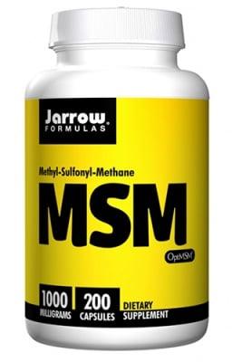 Jarrow Formulas MSM 1000 mg 200 capsules / Джароу Формулас МСМ (метил-сулфонил-метан) 1000 мг. 200 капсули