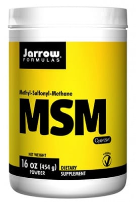 Jarrow Formulas MSM powder 454 g / Джароу Формулас МСМ (метил-сулфонил-метан) прах 454 гр.
