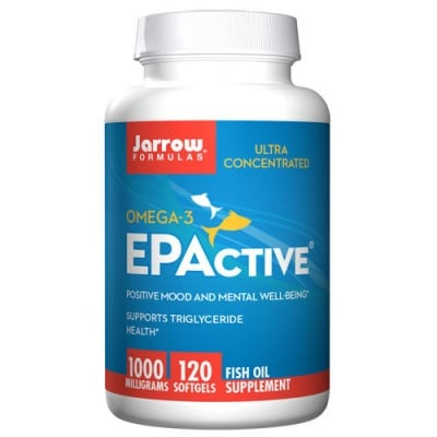 Jarrow Formulas EPActive 1000 mg 120 softgels / Джароу Формулас Рибено масло 1000 мг. 120 меки капсули