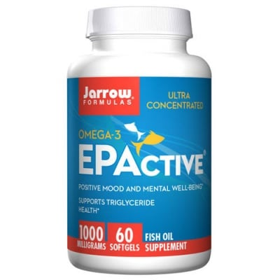 Jarrow Formulas EPActive 1000 mg 60 softgels / Джароу Формулас Рибено масло 1000 мг. 60 меки капсули