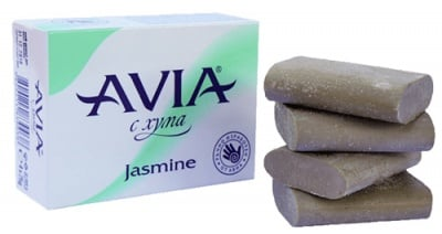 Avia soap with clay Jasmine 25 g 4 pcs. / Авиа Сапун с хума Jasmine 25 гр. 4 броя