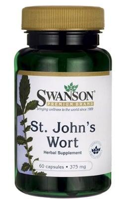 Swanson St. John`s wort 375 mg 60 capsules / Суонсън Жълт кантарион 375 мг 60 капсули