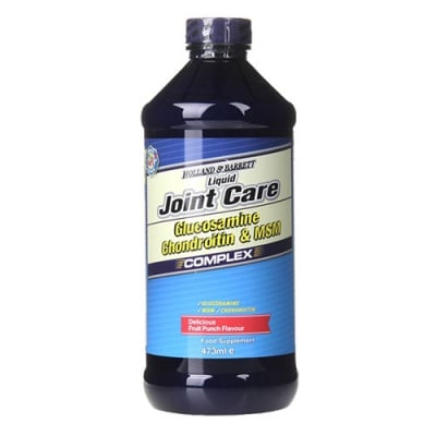 Liquid Joint Care Glucosamine, Chondroitin and MSM Complex 473 ml Holland & Barrett / Джойнт Кеър Глюкозамин, Хондроитин и МСМ Комплекс 473 мл. Holland & Barrett