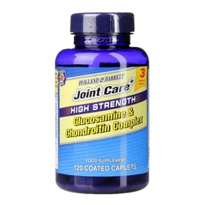 Joint Care High Strength Glucosamine and Chondroitin Complex 60 caplets Holland & Barrett / Джойнт Кеър Глюкозамин и Хондроитин Комплекс 120 каплети Holland & Barrett
