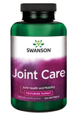 Swanson Joint care with glucosamine, MSM & chondroitin 120 capsules / Суонсън Грижа за ставите с глюкозамин, МСМ и хондроитин 120 капсули