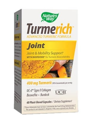 Turmerich Joint 325 mg 60 capsules Nature's Way / Турмерич Джойнт 325 мг. 60 капсули Nature's Way