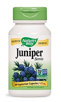 Juniper 425 mg 100 capsules Nature's Way / Хвойна синя 425 мг. 100 капсули Nature's Way