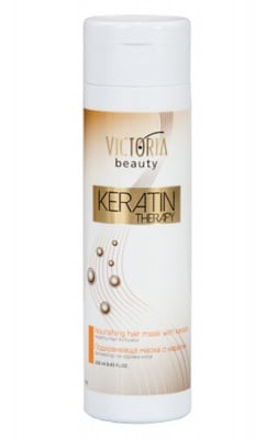Victoria Beauty Nourishing hair mask with keratin 250 ml. / Виктория Бюти Подхранваща маска с кератин 250 мл.