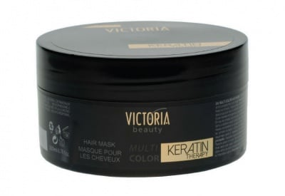 Victoria Beauty multi color keratin therapy hair mask 200 ml / Виктория бюти мулти колор маска за коса 200 мл