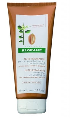 Klorane nutri-reparative conditioner with desert date 200 ml. / Клоран Балсам за коса с пустинна фурма 200 мл.