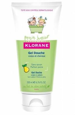 Klorane petit junior shower gel Pear 200 ml. / Клоран Джуниър душ-гел за коса и тяло Круша 200 мл.