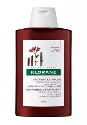 Klorane shampoo with Quinine and B vitamins revitalizing and strengthening thiming hair 200 ml / Клоран решитализиращ шампоан с хинин и витамин Б против косопад 200 мл