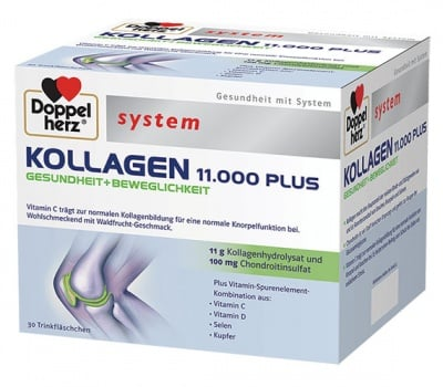 Doppelherz System Kollagen 30 flacones / Допелхерц Систем Колаген 30 флакона