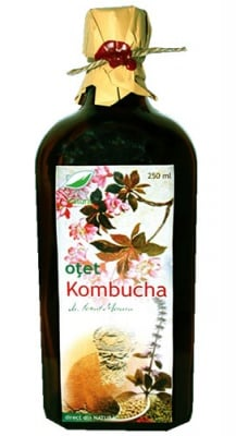 Kombucha vinegar 250 ml. Pro Natura / Комбуча оцет 250 мл. Про Натура