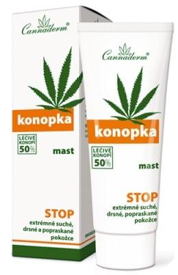 Cannaderm Konopka cream for dry skin 75 ml. / Канадерм Конопка крем за суха и напукана кожа 75 мл.
