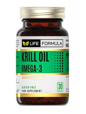 Life formula krill oil 30 capsules / Лайф формула масло от крил 30 капсули