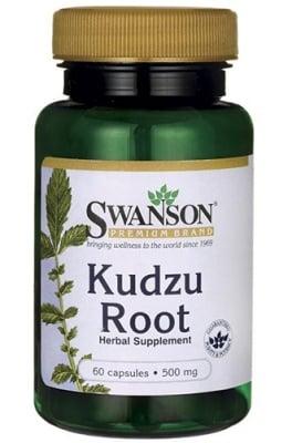 Swanson Kudzu root 500 mg 60 capsules / Суонсън Кудзу 500 мг. 60 капсули