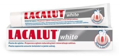 Toothpaste Lacalut White 75 ml. / Паста за зъби Лакалут Уайт 75 мл.