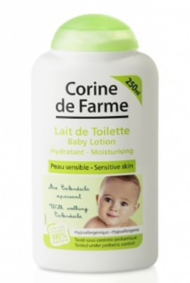 Corine de farme Baby lotion 250 ml. / Корин Бебе Овлажняващ лосион за тяло 250 мл.
