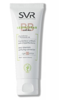 SVR Sebiaclear Creme BB light SPF20 40 ml. / Себиаклиър крем BB лайт SPF20 40 мл. SVR