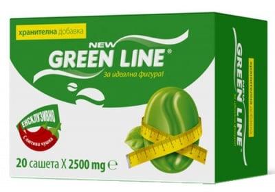 Green line 20 sachets / Грийн лайн 20 сашета