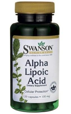 Swanson alpha lipoic acid 100 mg 120 capsules / Суонсън Алфа липоева киселина 100 мг. 120 капсули