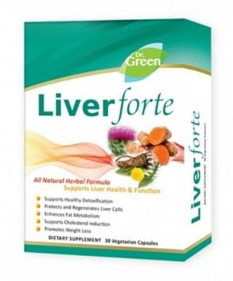 Liver Forte 30 capsules Dr. Green / Ливър Форте 30 капсули Др. Грийн