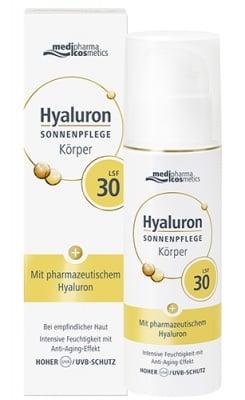 Pharma Hyaluron face cream SPF30 with pharmaceutical grade hyaluronic acid 50 ml. / Фарма Хиалурон крем за лице SPF30 с фармацевтичен клас хиалуронова киселина 50 мл.