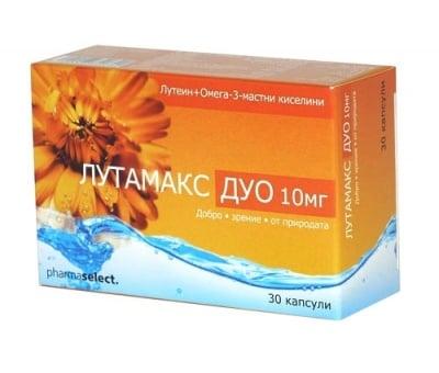 Lutamax duo 10 mg 30 capsules / Лутамакс дуо 10 мг. 30 капсули