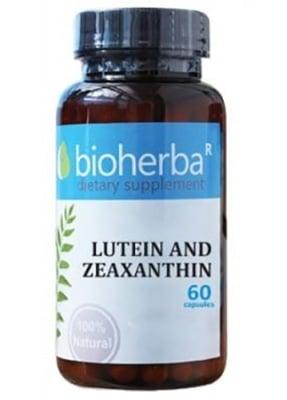 Bioherba lutein and zeaxanthin 60 capsules / Биохерба Лутеин и Зеаксантин 60 капсули
